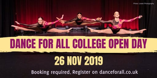 Dance College Open Day