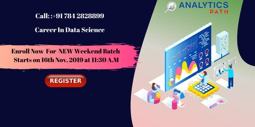 Register For Data Science New Weekend Batch By Experts From IIT & IIM
