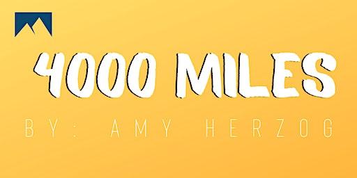 4,000 Miles by Amy Herzog