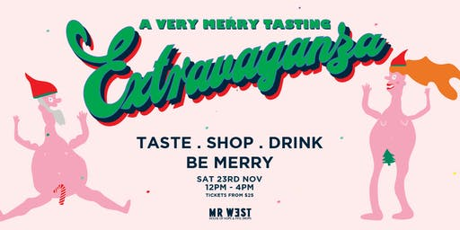 A Very Merry Tasting Extravaganza 2019