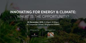 Innovating for Energy & Climate: Where is the...