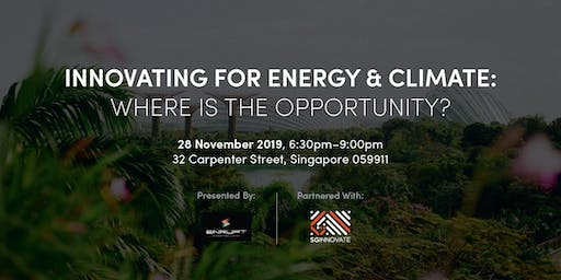 Innovating for Energy & Climate: Where is the Opportunity?