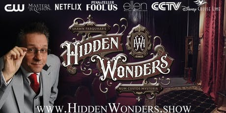 Hidden Wonders Speakeasy Magic Experience tickets