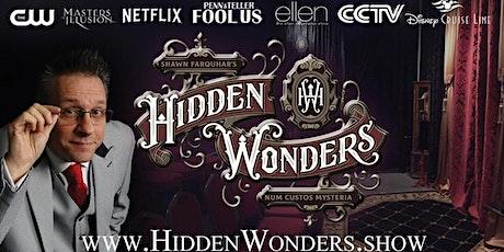 Hidden Wonders Speakeasy Magic Experience tickets