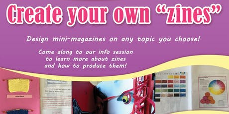 """Create Your Own """"Zines"""" - Hervey Bay Library tickets"""