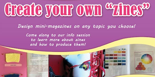 "Create Your Own ""Zines"" - Hervey Bay Library"