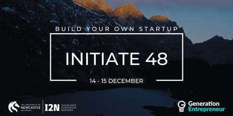 Initiate 48 (Dec 2019) - University of Newcastle tickets