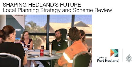 Shaping Hedland's Future Consultation Forum (Wednesday 20 November) tickets