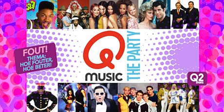 Qmusic The Party FOUT! - Uden tickets