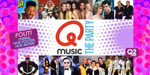 Qmusic The Party FOUT! - Uden