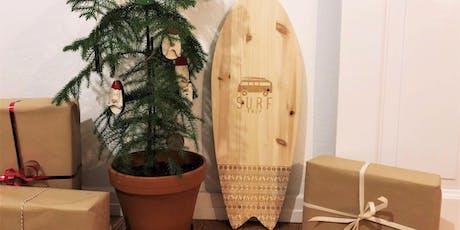 DIY-Workshop: Balance Board als Weihnachtsgeschenk Tickets
