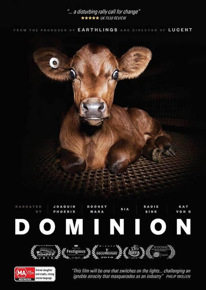 Free Film N' Food event: 'Dominion' - Tue 23rd March image
