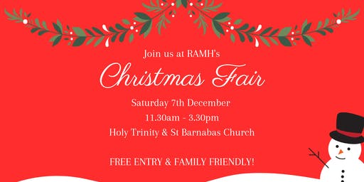 RAMH Christmas Fair 2019