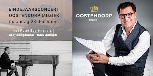 Oostendorp Eindejaarsconcert met Peter Baartmans en Hans Jansen