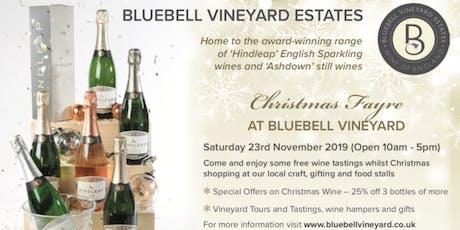 Bluebell Vineyard Winter Fayre tickets