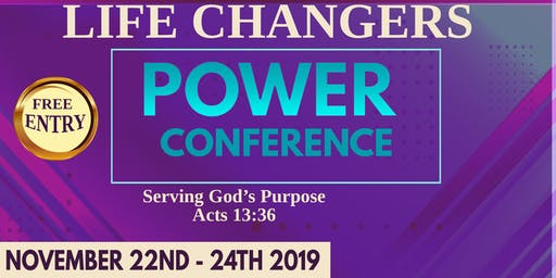 Serving God's Purpose - Life Changes Power Conference - JRC Church