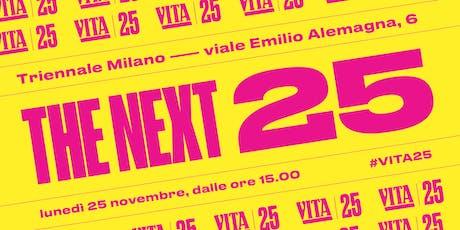 THE NEXT 25 biglietti