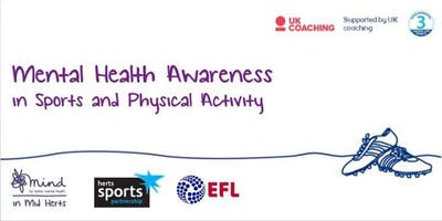 Mental Health Awareness in Sport and Physical Activity