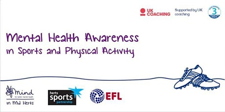 Mental Health Awareness in Sport and Physical Activity tickets
