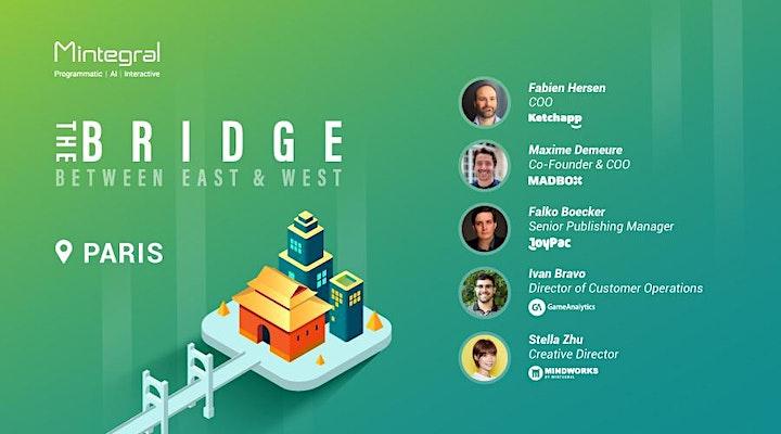 Bridge@Paris:Hyper-Casual Game Publishing,Monetization and User Acquisition image