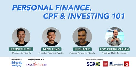 A Beginner's Guide To Personal Finance, CPF & Investing 101 tickets