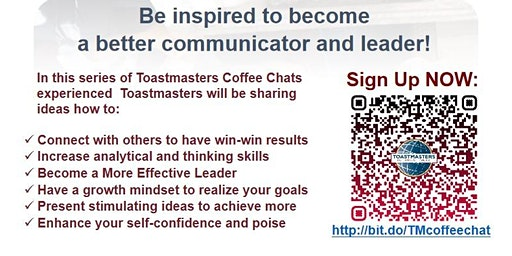 Toastmasters Coffee Chats