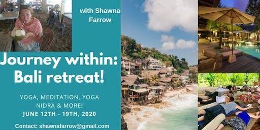 Journey within: Bali Yoga Retreat!