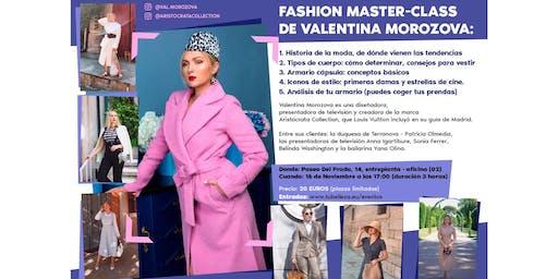 Fashion Master-class de Valentina Morozova