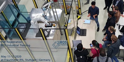 Pre-Registration for ROS-Industrial Training May 2020 (no ticket sale yet)