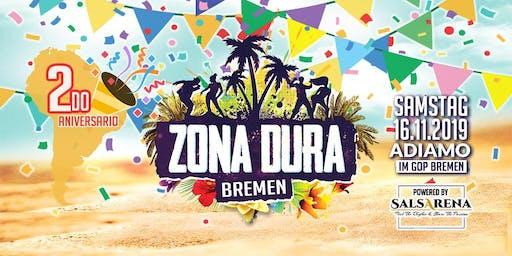 ZONA DURA Bremen • 2do Aniversario • SA 16.11.19 • Adiamo