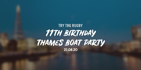 Try Tag Rugby 11th Birthday Boat Party tickets