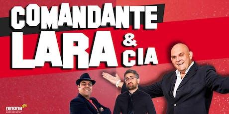 COMANDANTE LARA & CIA EN ARGANDA DEL REY , TEATRO CASABLANCA entradas