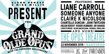 The Grand Olde Opus tickets