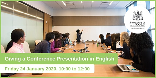 Giving a Conference Presentation in English