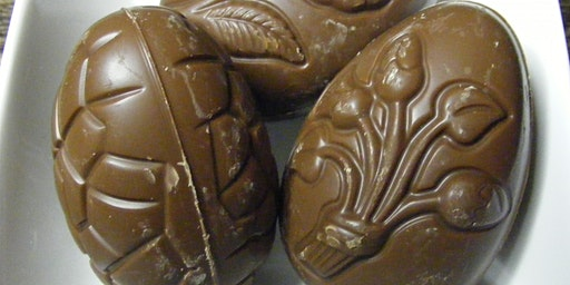Pontefract Castle: Have a Dabble - Chocolate Easter Eggs - 12th March 2020 - Adults