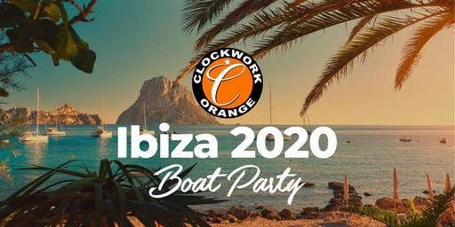 Clockwork Orange Ibiza Boat Party 2020