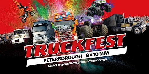 Truckfest Peterborough Truck Entry 2020