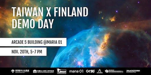 Taiwan X Finland Demo Day 2019