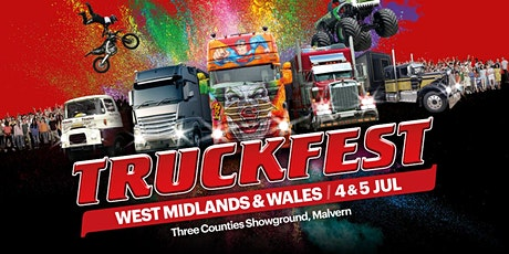 Truckfest West Midlands & Wales Truck Entry 2020 tickets