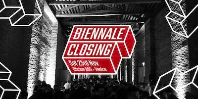 BIENNALE CLOSING 23.11 Oficine800 Venezia