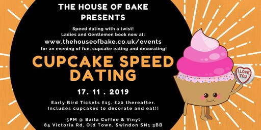 Cupcake Speed Dating 20-35 EARLY BIRD TICKETS ON SALE NOW
