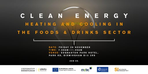 Clean Energy: heating and cooling in the Food and Drinks Sector