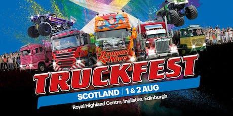 Truckfest Scotland Truck Entry 2020 tickets