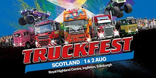 Truckfest Scotland Truck Entry 2020