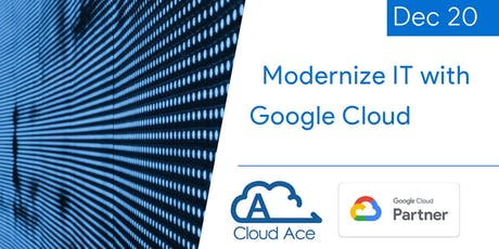 Modernize IT with Google Cloud tickets