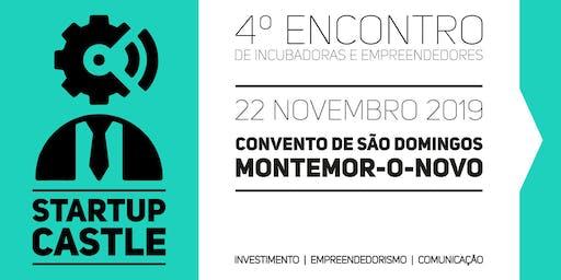 Startup Castle 2019 - 4º Encontro de empreendedores de Montemor-o-Novo