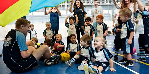 Rugbytots classes in Bridgend (Tuesdays)