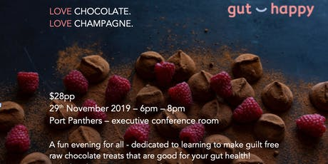 Learn to make HEALTHY raw chocolate and treats tickets