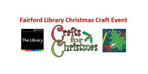 Fairford Library Christmas Craft Event