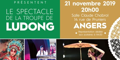 Spectacle Ludong, Scolaire - ANGERS billets